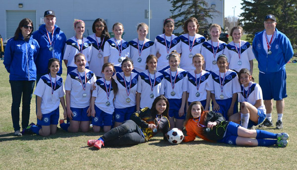 Mill Woods Selects FC 2000 Girls