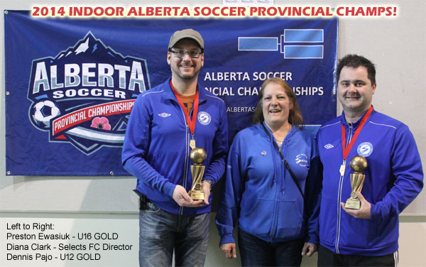 2014 Indoor Provincial Champions