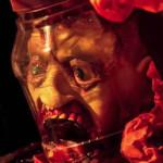 Halloween Scary Jar Head