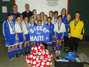 Soccer for Haiti