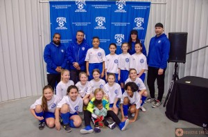 U11 Girls Goberdhan's team undefeated at 2019 Calgary Winter Classic