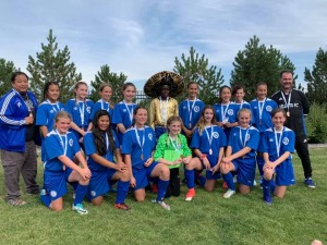 U13 Girls Pajo Tier 2 Provincial Bronze medal winners!