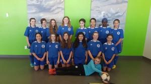 U13 Girls Tier 2 MW Selects FC (Pajo) – BRONZE medal