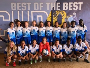 U15 Girls MW Selects won Bronze at Surf Cup in San Diego