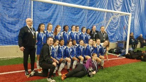 U15 Girls Pajo/Charpentier Tier 1 Provincial Champs!